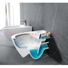 Инсталляция Koller Pool Alcora + унитаз Villeroy & Boch ARCHITECTURA 5684HR01 DEIRECT FLUSH сиденье твердое Slim soft-Close