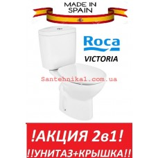 Унитаз компакт ROCA VICTORIA  A34940200V + Сидение Испания