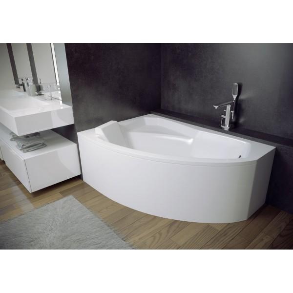 Ванна акриловая RIMA 160х100 BESCO левосторонняя от производителя акриловых ванн и поддонов BESCO