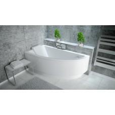 Ванна акриловая PRAKTIKA 140х70 BESCO левосторонняя от производителя акриловых ванн и поддонов BESCO