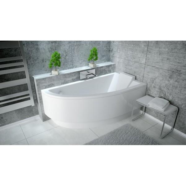Акриловая ванна PRAKTIKA 140х70 BESCO правосторонняя от производителя акриловых ванн и поддонов BESCO
