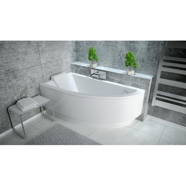 Ванна акриловая PRAKTIKA 150х70 BESCO левосторонняя от производителя акриловых ванн и поддонов BESCO