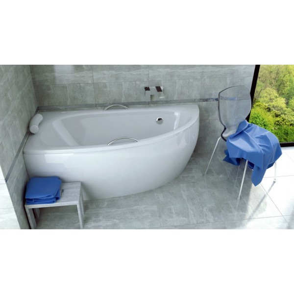 Ванна акриловая MILENA 150х70 BESCO левосторонняя от производителя акриловых ванн и поддонов BESCO
