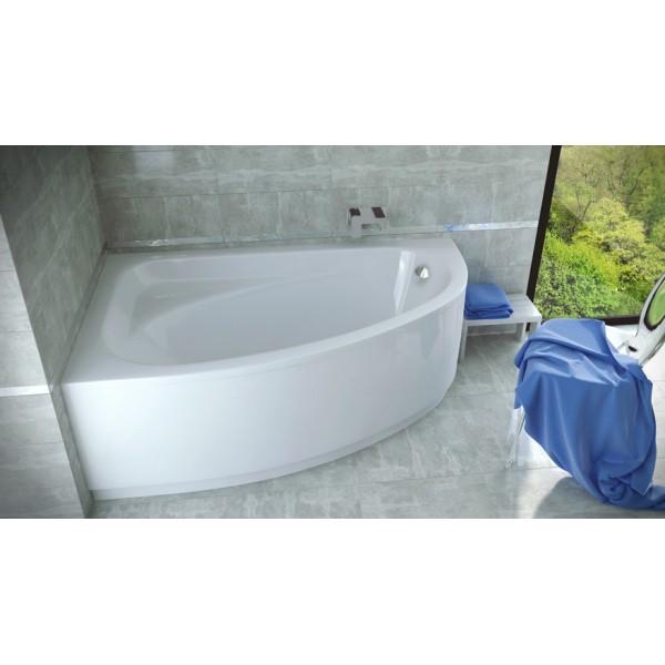 Ванна акриловая CORNEA 140х80 BESCO левосторонняя от производителя акриловых ванн и поддонов BESCO