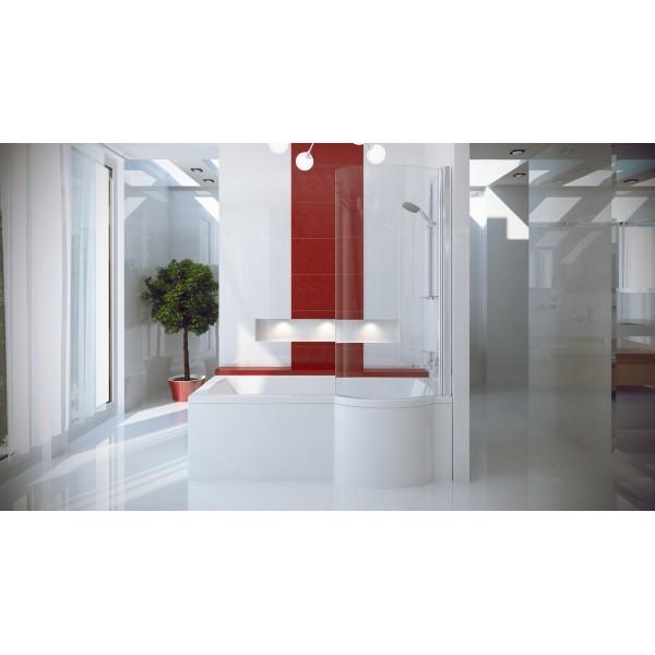 Ванна акриловая INSPIRO 150х70 BESCO правосторонняя от производителя акриловых ванн и поддонов BESCO