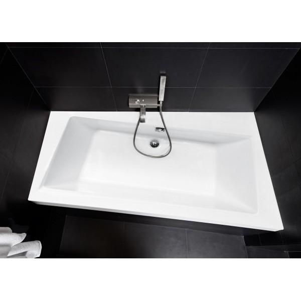 Ванна акриловая INFINITY 170х110 BESCO правосторонняя от производителя акриловых ванн и поддонов BESCO