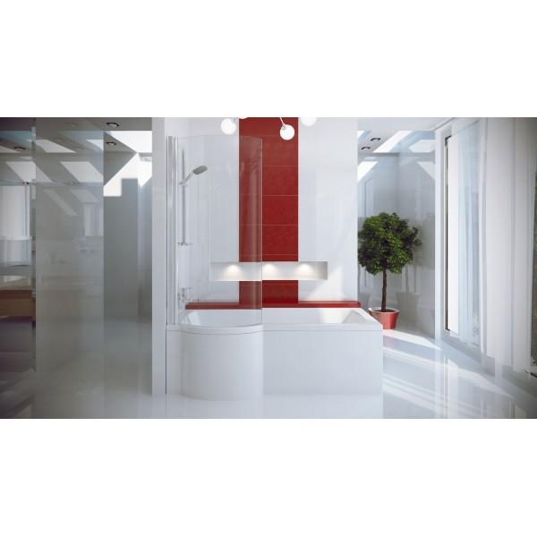 Ванна акриловая INSPIRO 150х70 BESCO левосторонняя от производителя акриловых ванн и поддонов BESCO