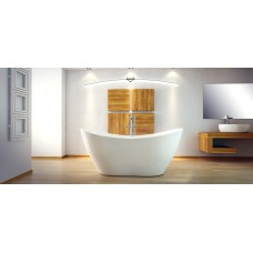 Ванна отдельно стоящая Viya 160x70 Besco PMD PIRAMIDA от производителя акриловых ванн и поддонов BESCO