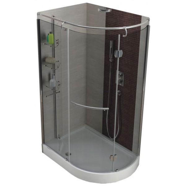 Душевой уголок ETNA 850х1200 прозрачное (набор правый) 105-05410