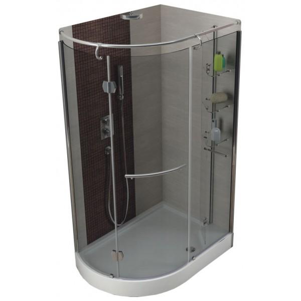 Душевой уголок ETNA 850х1200 прозрачное (набор левый) 105-05411