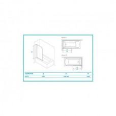 Шторка для ванны Koller Pool QP93