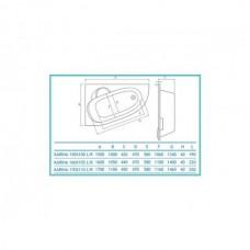 Koller Pool Karina 170х110 L/R