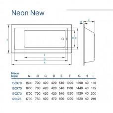 Koller Pool Neon New 170x75