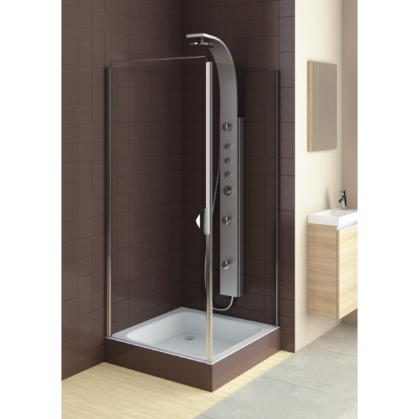 Душевая дверь в нишу или со стенкой GLASS 5 80 103-06367 (L)