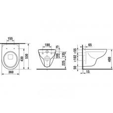 Комплект инсталляция Grohe Rapid SL 38721001 + унитаз Jika Lyra H8233800000001 c сидением Soft Close H8933853000001
