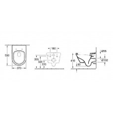 Инсталяция GEBERIT 3-в-1 458.126.00.1 + Omnia Architectura Directflush 5684HR01 унитаз подвесной с крышкой Soft Close