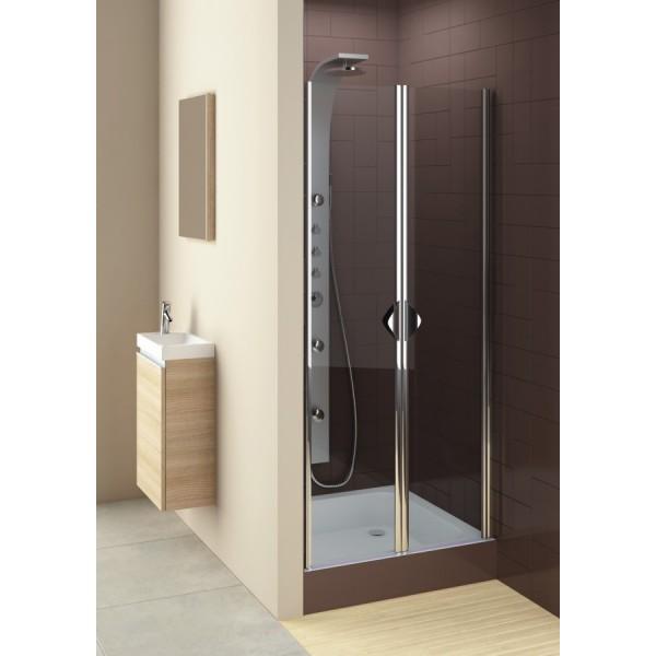 Душевая дверь GLASS 5 распашные маятниковые 80 103-06355