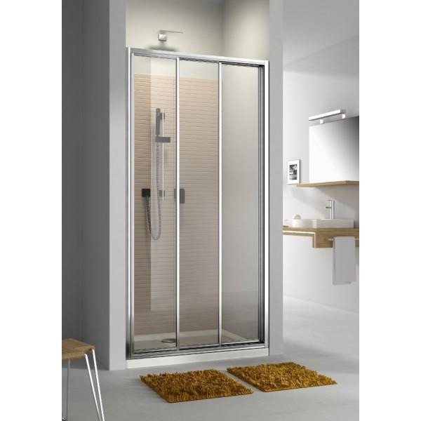 Душевая дверь в нишу или со стенкой MODERNO 100 103-09342