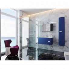 Зеркальный шкаф BOTTICELLI VELLUTO VltMC-100 синий