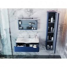 Зеркальный шкаф BOTTICELLI VELLUTO VltMC-100 бордовый