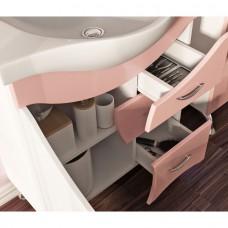 Тумба JUVENTA BRIZ Б2-65 розовая