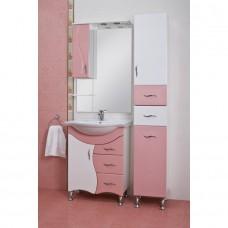 Зеркало JUVENTA BRIZ БШНЗ 2-65 розовое левое