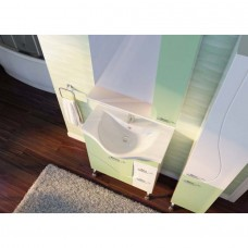 Зеркальный шкаф JUVENTA FRANCHESKA ФШНЗ 2-75 правый белый