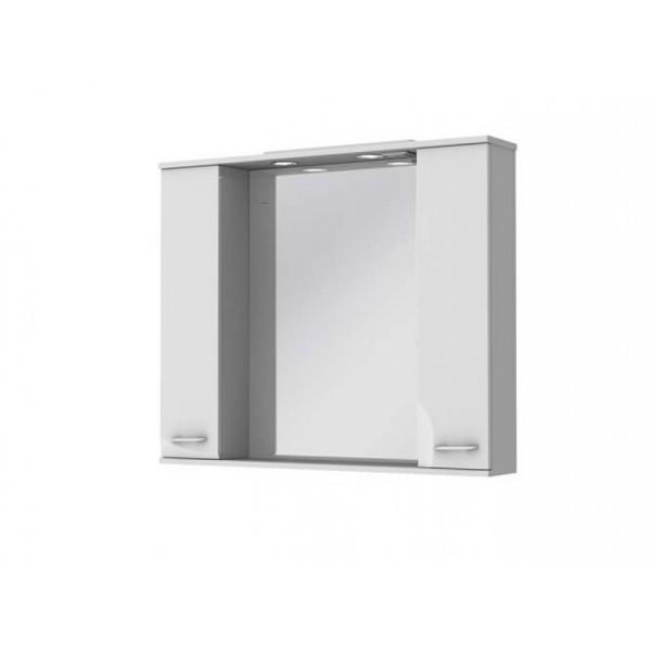 Зеркальный шкаф JUVENTA FRANCHESKA ФШНЗ 3-100 белый