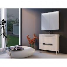 Зеркальный шкаф JUVENTA MONZA MnMC-100 белый