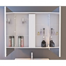 Зеркальный шкаф JUVENTA MONZA MnMC-60 белый