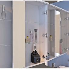 Зеркальный шкаф JUVENTA MONZA MnMC-80 белый