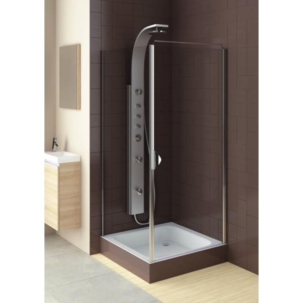 Душевая дверь в нишу или со стенкой GLASS 5 90 103-06373 (R)