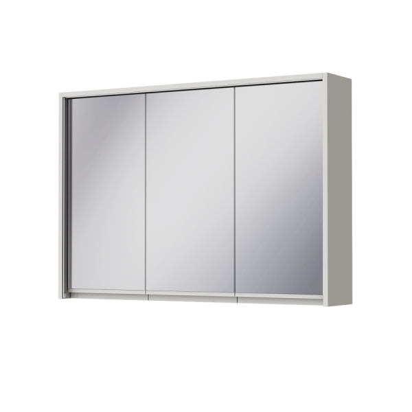 Зеркальный шкаф JUVENTA SAVONA SvM-100 белый