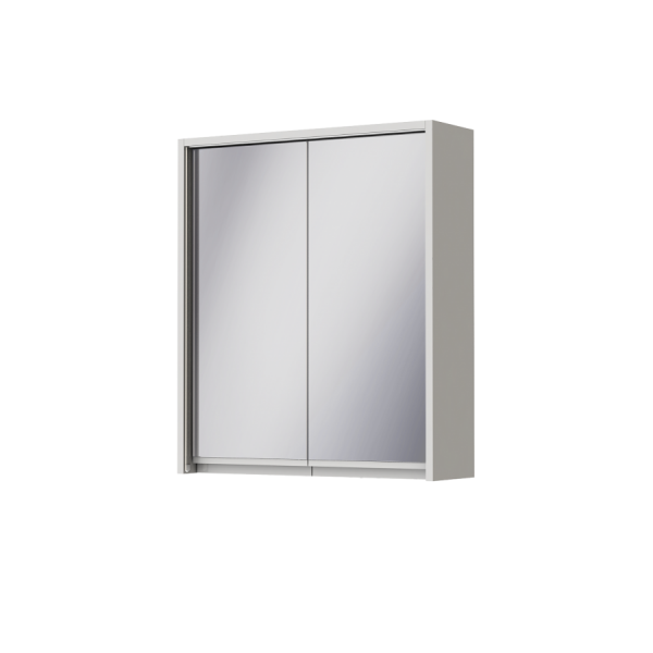 Зеркальный шкаф JUVENTA SAVONA SvM-60 белый