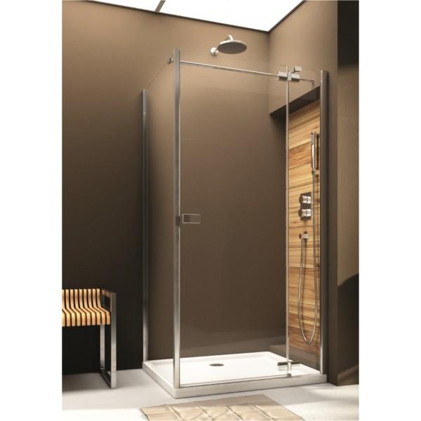 Душевая дверь для монтажа со стенкой VERRA LINE 100 103-09336 правая