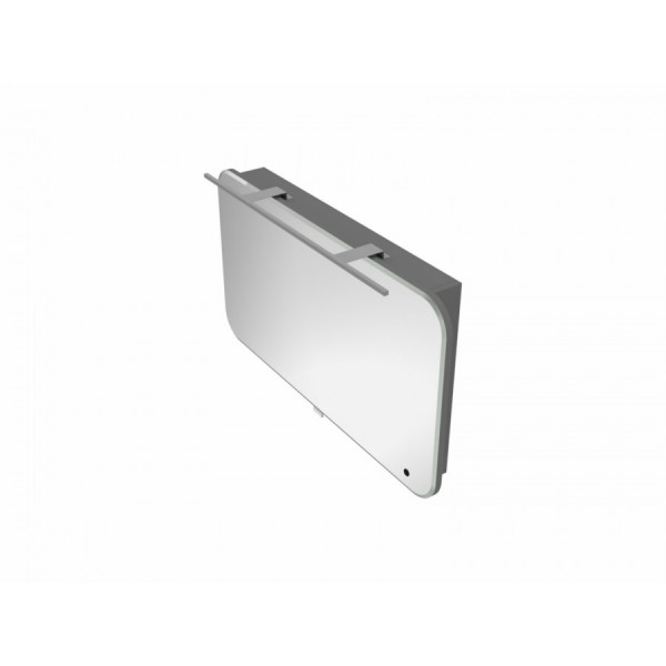 Зеркальный шкаф BOTTICELLI VELLUTO VltMC-100 серый