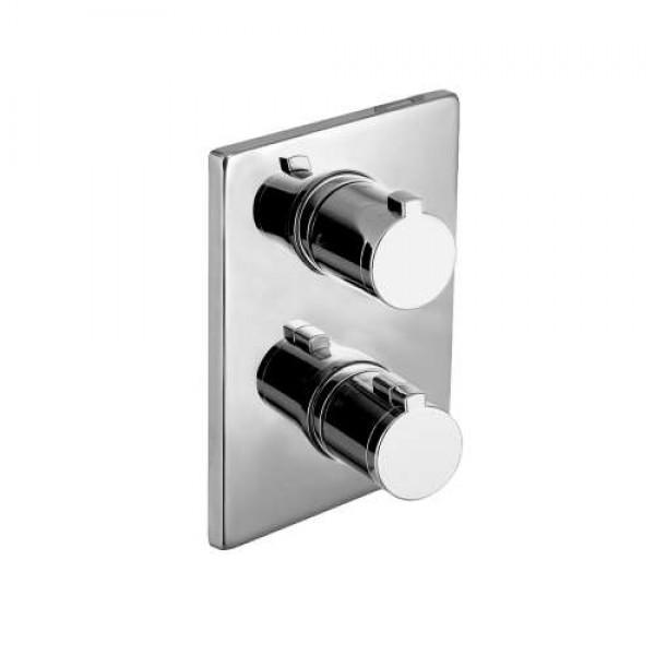 CENTRUM cмеситель для ванны, термостат, скрытый монтаж VRB-10400Z Imprese VRB-10400Z