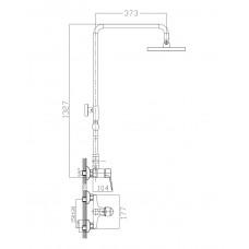 Душевая система Witow T-15080 Imprese T-15080
